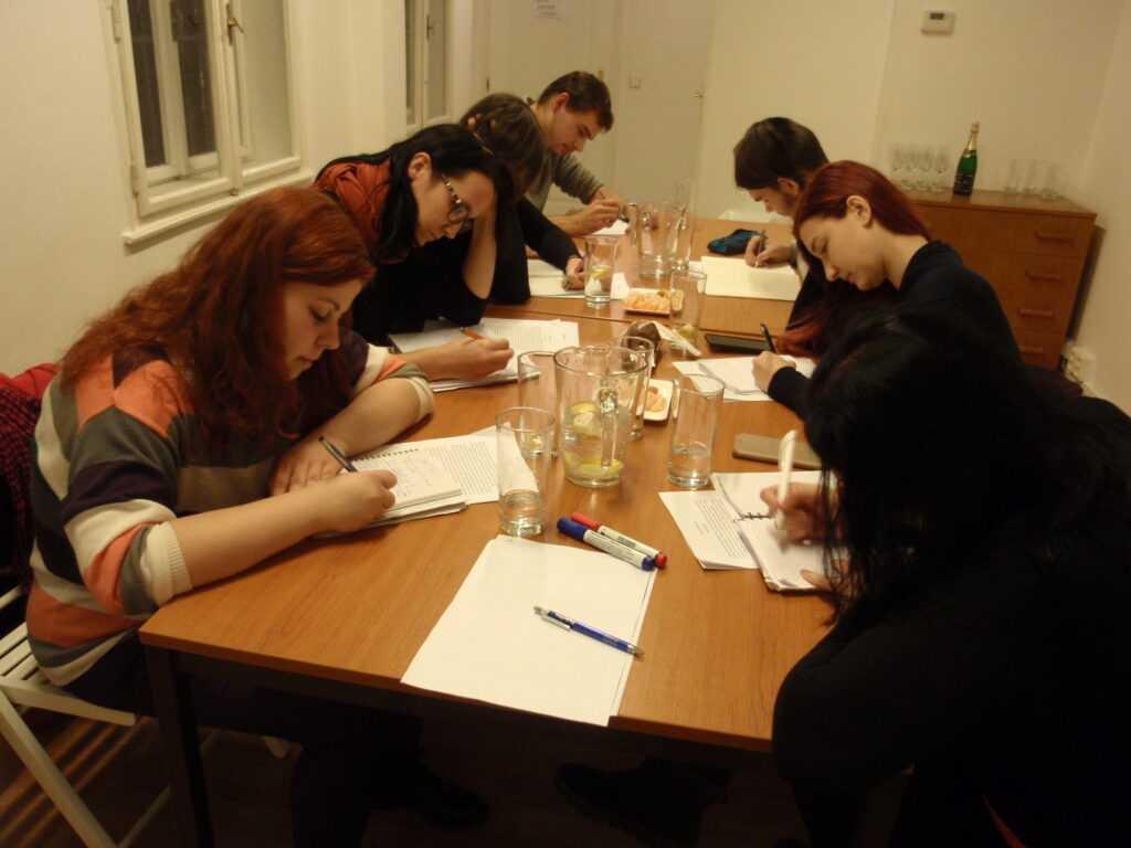pokročilý kurz tvůrčího psaní