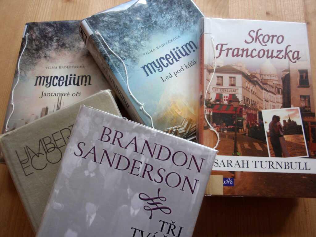 Moje prázdninové romány.