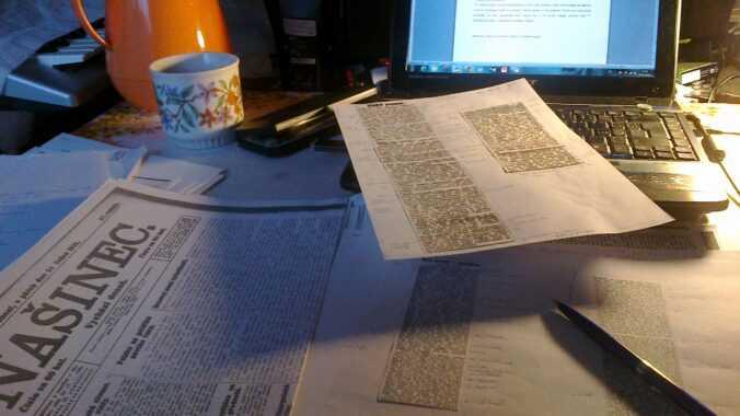 Jak píšu diplomku.