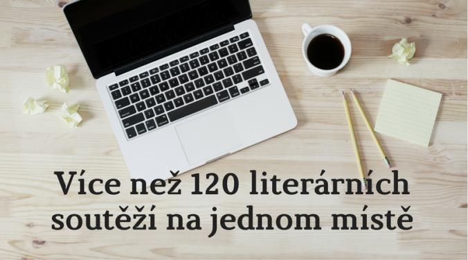 120 literárních soutěží na 1 místě