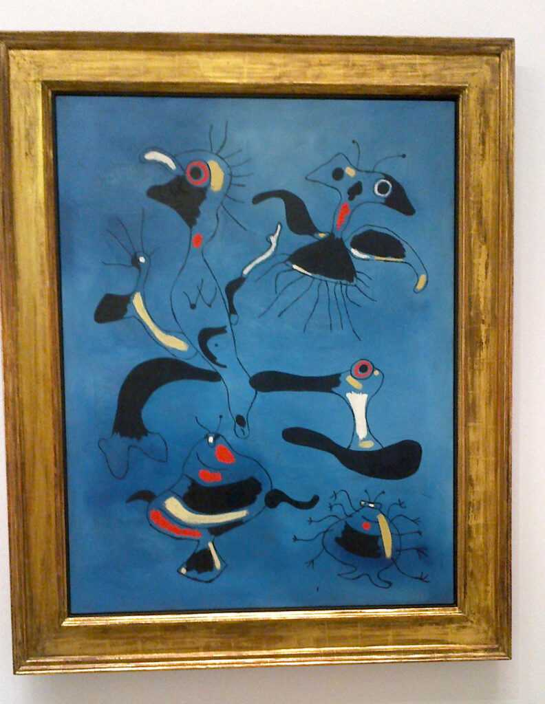 Obraz Pták a hmyz od Juana Miró