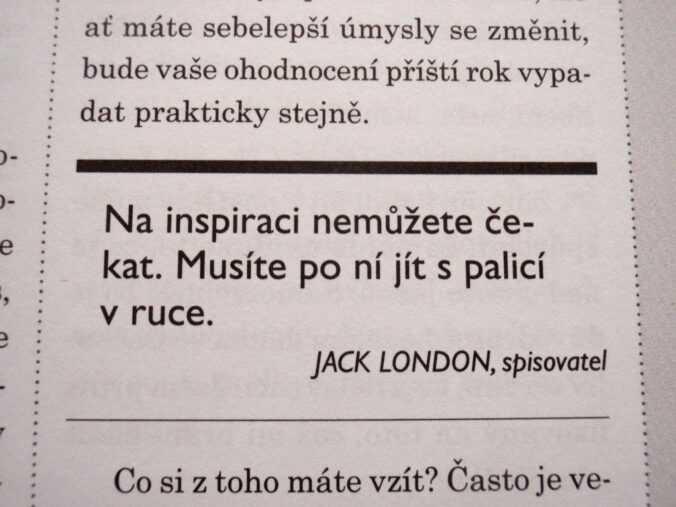 citát Jacka Londona