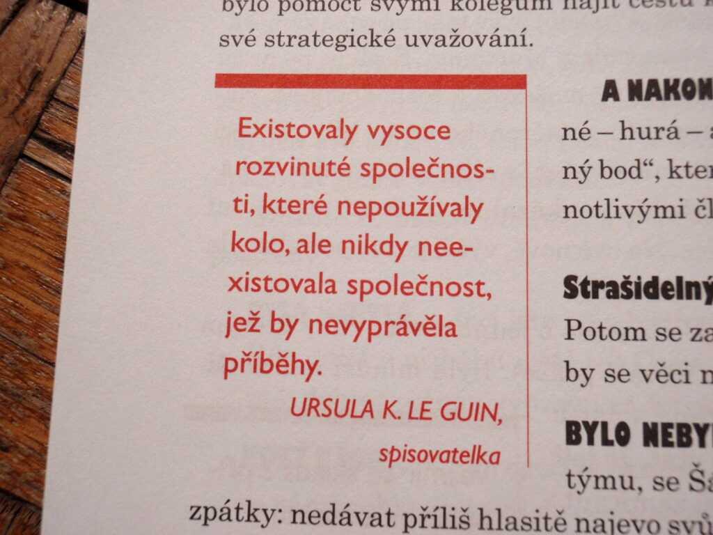citát Le Guinová