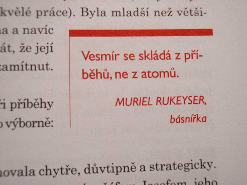 citát Rukeyser