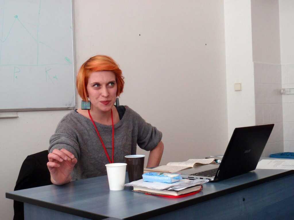 Lektorka Dominika Šindelková.