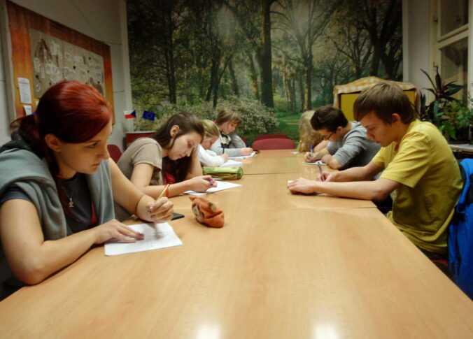 kurz tvůrčího psaní - ve třídě