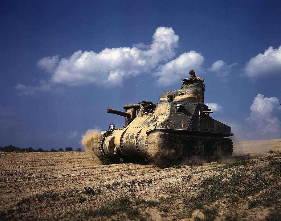 Americký tank.