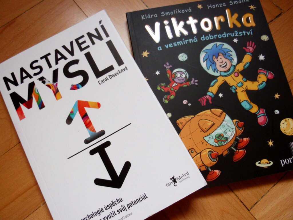Nastavení mysli a komiks Viktorka a vesmírná dobrodružství