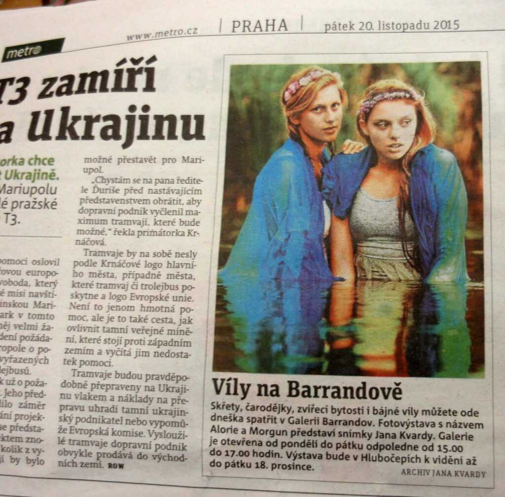 deník Metro.