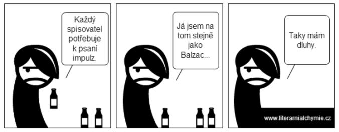 Komiks o spisovatelích