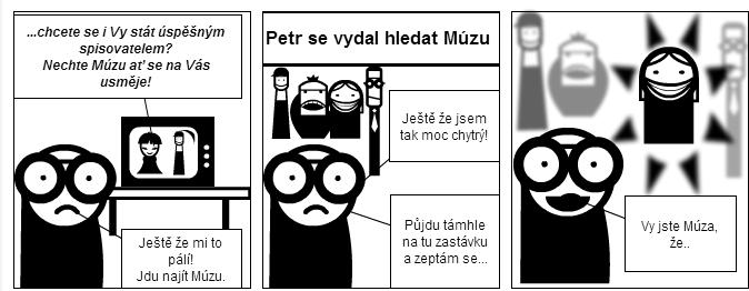 komiks múza