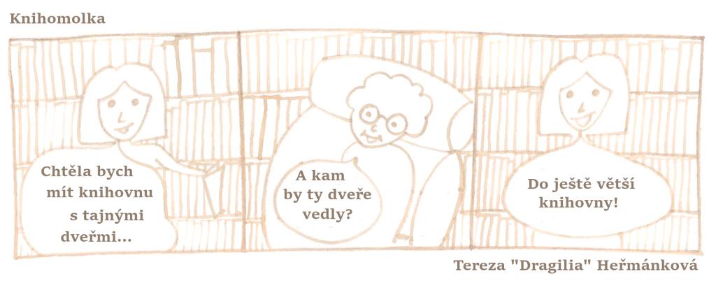 komiks knihovna