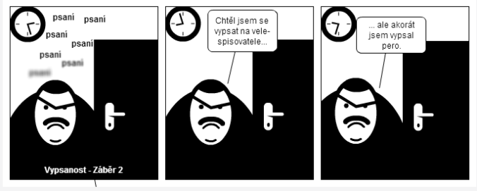 komiks tvůrčí psaní