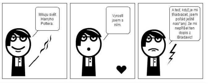 komiks harry potter