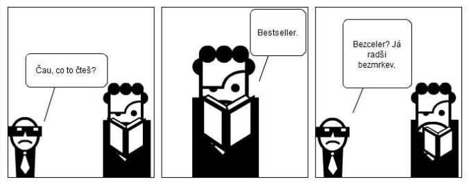 komiks bestseller