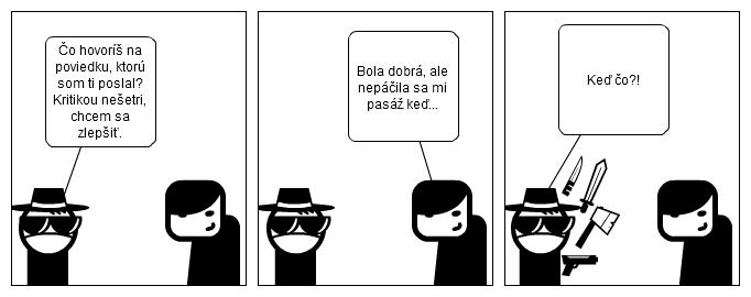 komiks spisovatel