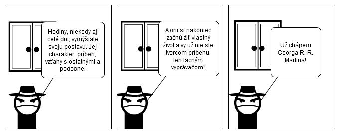 komiks Hra o trůny