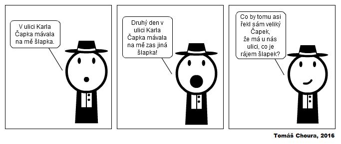 komiks Karel Čapek