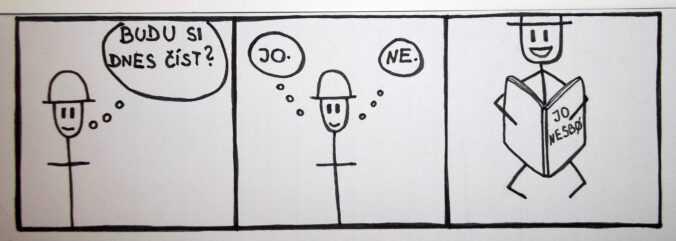 komiks Jo Nesbo
