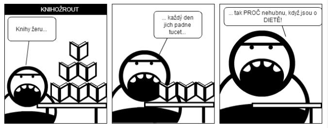 komiks knihy