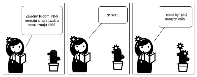 komiks kniha