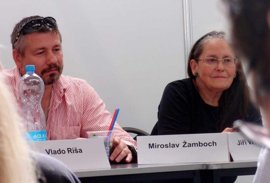 Miroslav Žamboch, Františka Vrbenská.