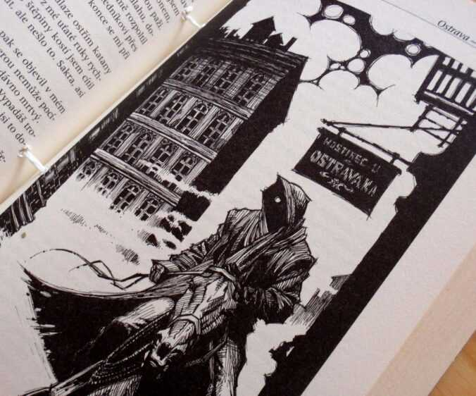 Ilustrace z Drsného spasitele