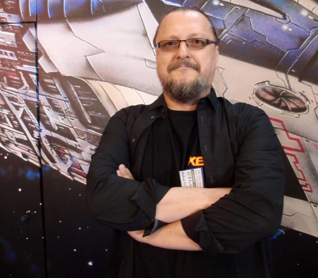 Spisovatel Jiří Walker Procházka