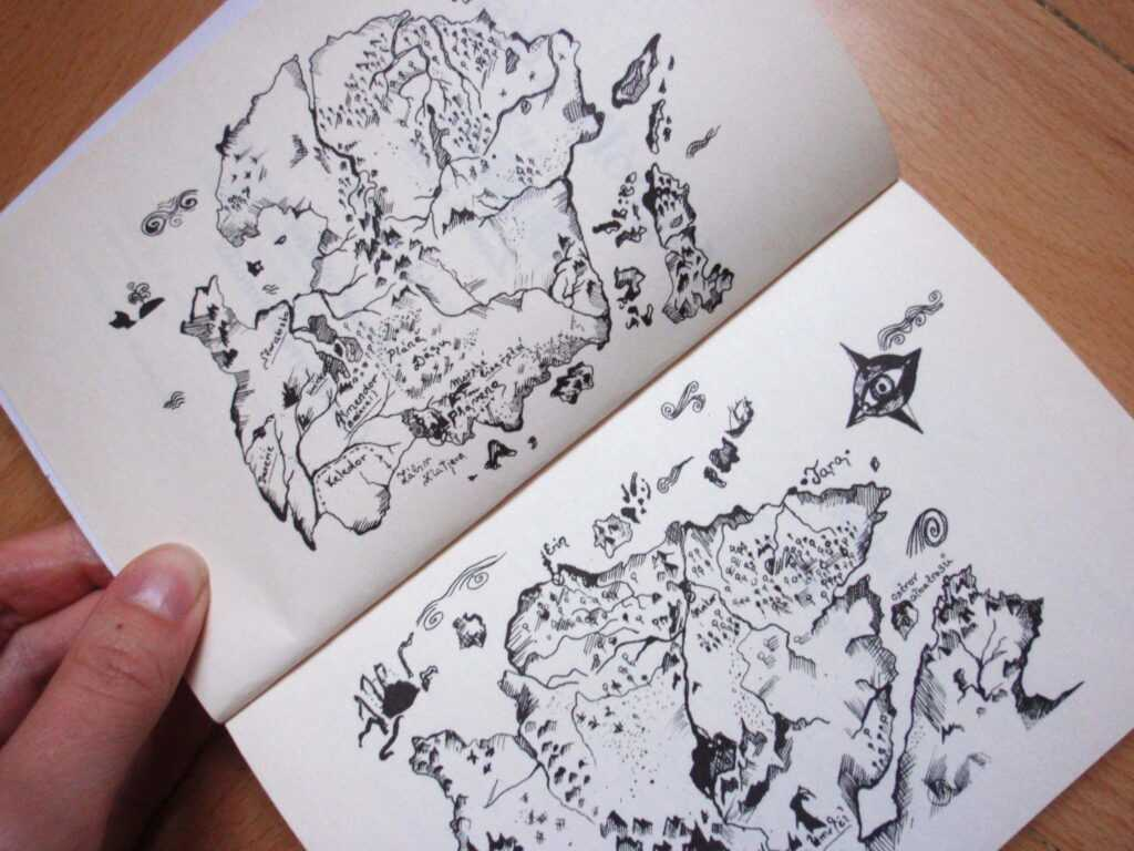Mapa Asterionu