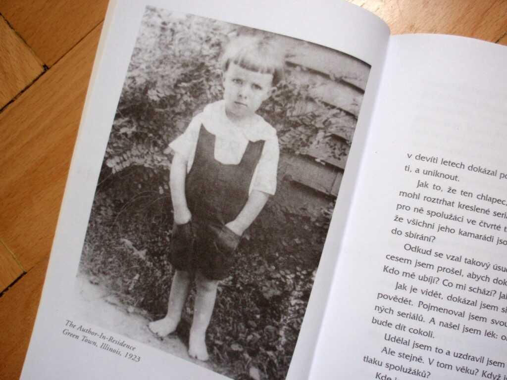 Malý Ray Bradbury.