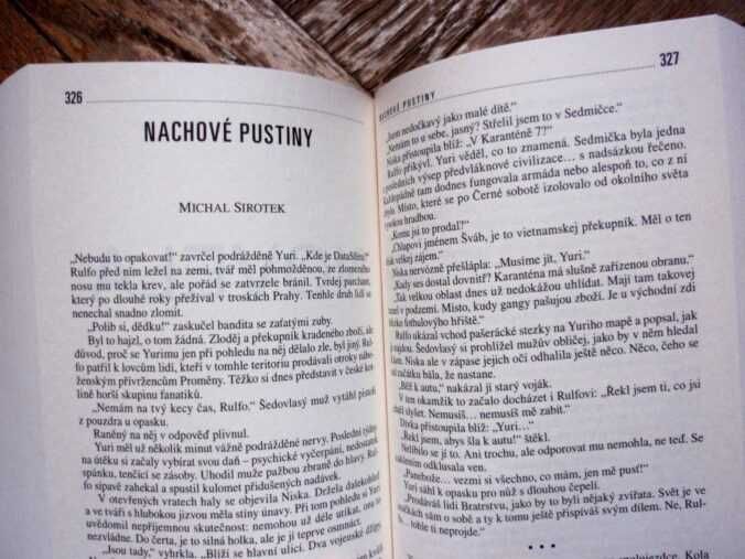 Michal Sirotek, Nachové pustiny