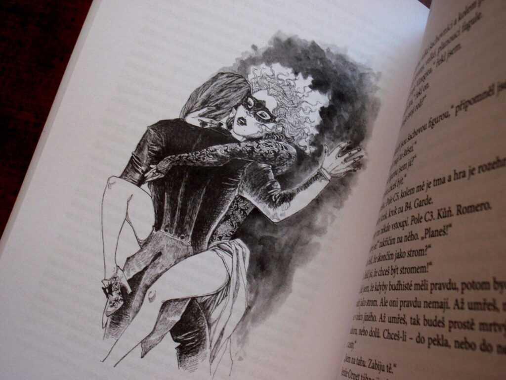 ilustrace v knize