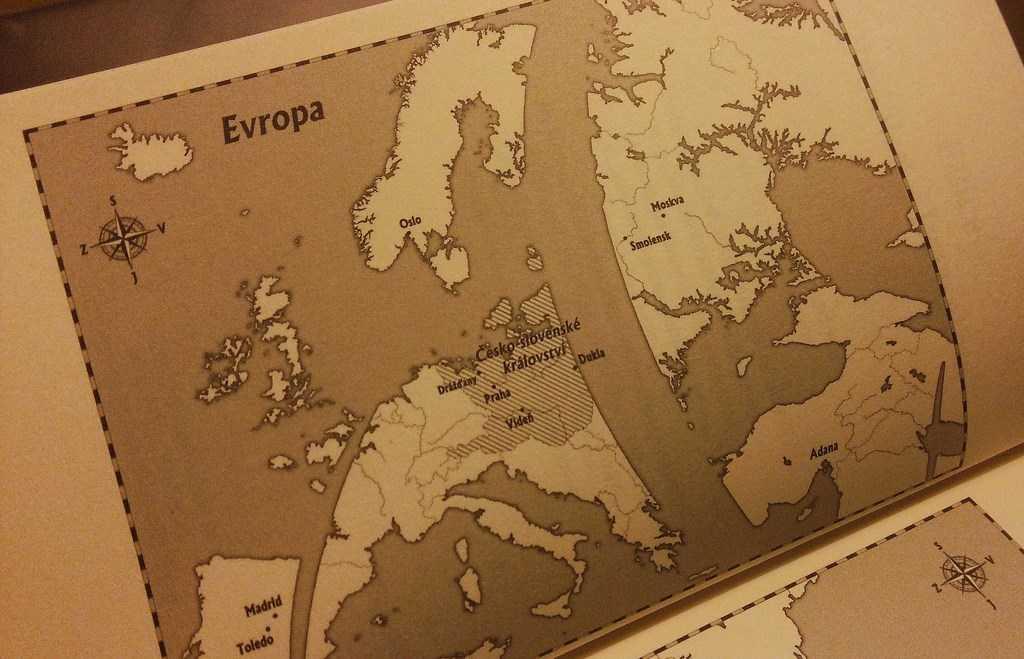 Česko-slovenské království je v Honzově románu námořní velmocí.