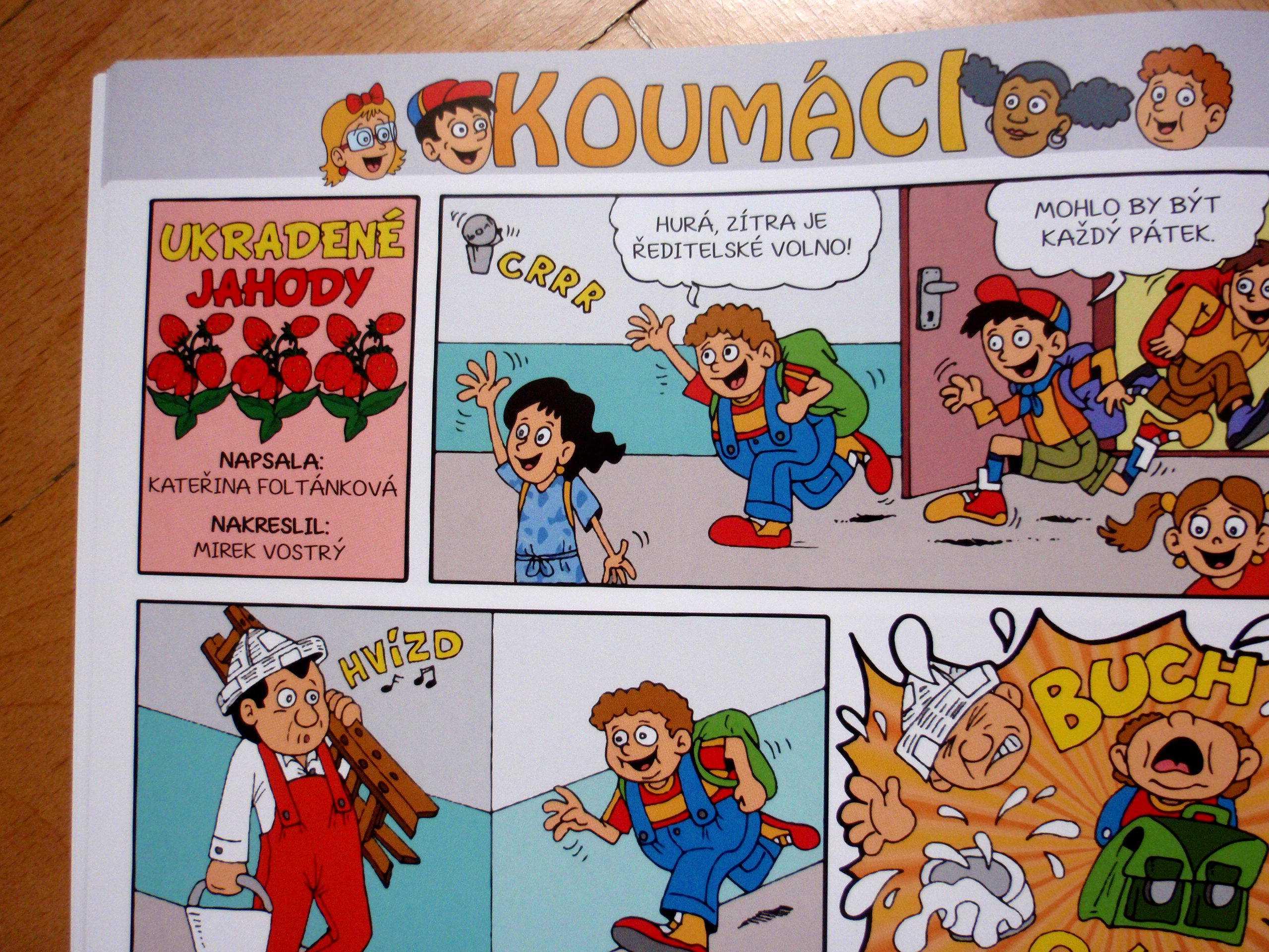 komiks koumáci v akci