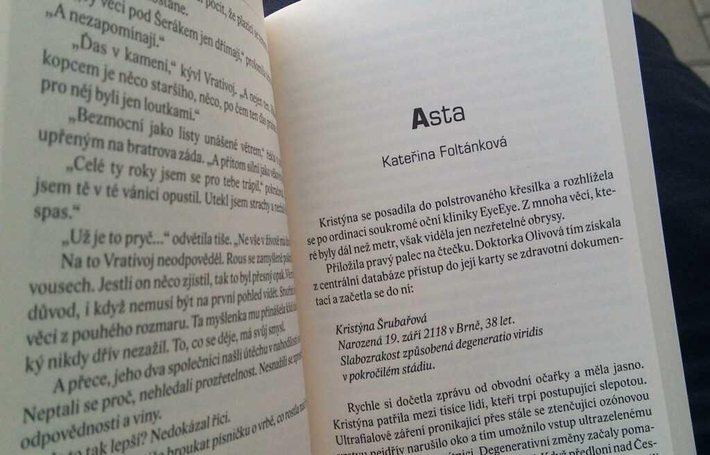 povídka Asta