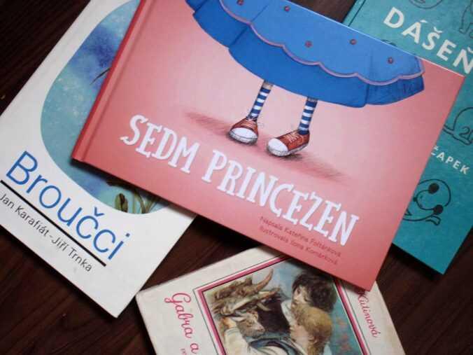 kniha Sedm princezen