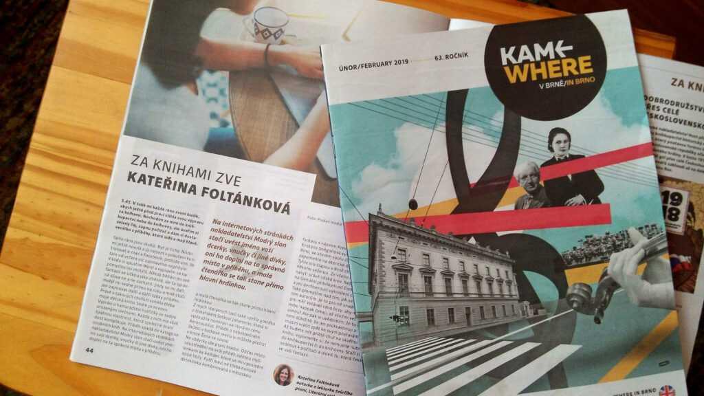 Můj článek v magazínu KAM.