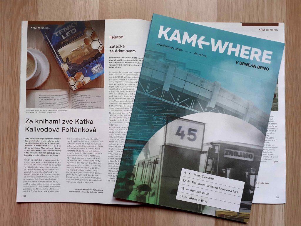 časopis KAM v Brně