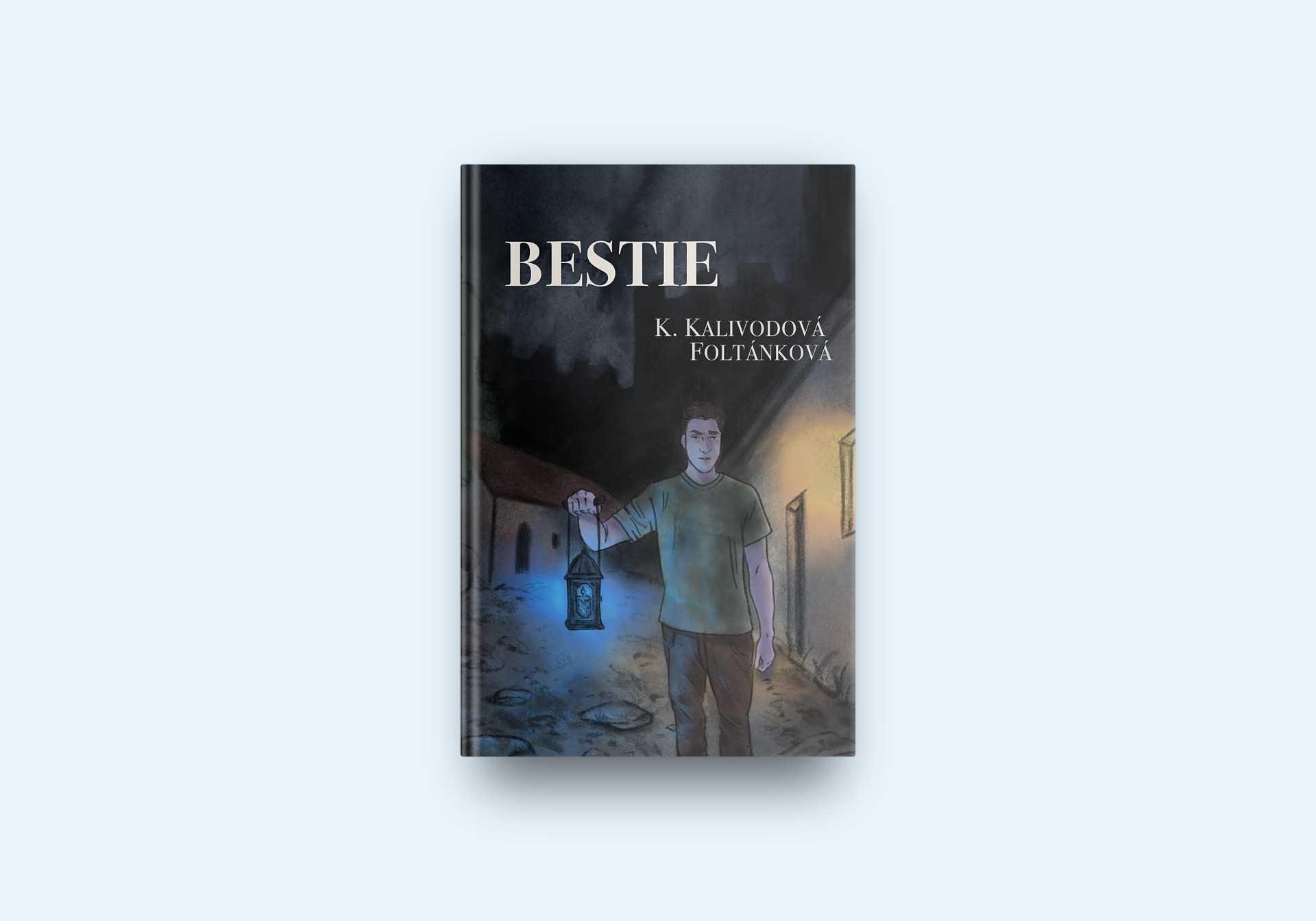 ilustrace k povídce Bestie